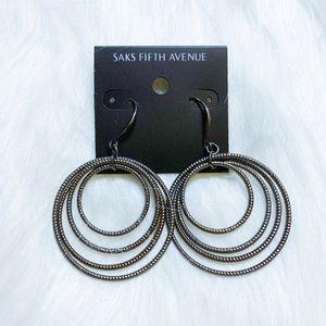 NWT! SAKS FIFTH AVENUE Earrings
